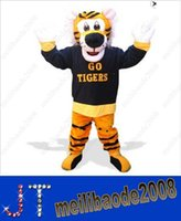 Mascot Costumes go go costume - MASCOT CITY Go Tigers Mascot costume custom fancy costume animal kits mascotte fancy dress carnival costume HSA1131