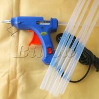 Wholesale 110V V Hot Melt Glue Stick Gun applicator for Crafts Repair Tool get Free Glue Sticks DIY tools parts accessories