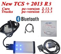 Cheap Newest Software TCS scanner cdp pro plus With Bluetooth +LED cable+LED light 2013 R3