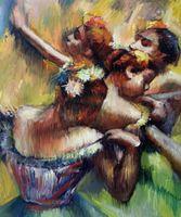 artist edgar - Edgar Degas decoration oil painting The Four Dancers famous artist reproduction