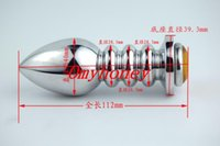 Wholesale Chastity Devices Screw Anal Butt plug Anal Sex Toys Anal Plug Ass Toy plug Sex Toys for men women SM570