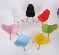 kids plastic chair - Kids Eames chair plastic chair for children indoor using
