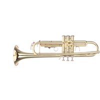 Wholesale Trumpet Bb B Flat Brass Exquisite with Mouthpiece Gloves Popular Musical Instrument New Arrival I525
