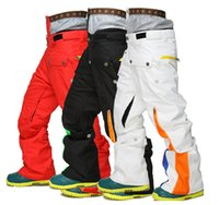 Wholesale High Quality Men Winter Ski Pants Thicken Warm Polyester Snowboard Skiing Trousers Breathable Waterproof Pants Styles