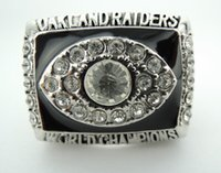 Wholesale Raiders XI super bowl world championship rings Size
