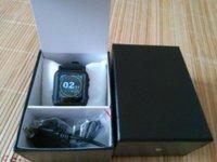 Ebook blanc Prix-6pcs / lot Mp4 montre avec Ebook gros Black White 8GB MP4 Player Watch avec 8 Go de mémoire montre aaa