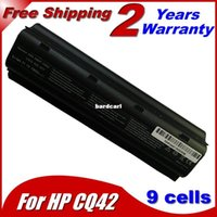 Frais de transport gratuit Portable Batterie 9Cells Pour HP HSTNN-Q49C HSTNN-Q51C HSTNN-Q61C HSTNN-Q63C HSTNN-UB0W HSTNN-YB0X HSTNN-CBOW HSTNN-F02C HSTNN-I7