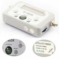 Wholesale Satellite Signal Finder Meter Satfinder Tool LCD DIRECTV DISH FTA TV Signal Finder Receptor Satellite Digital HD cccam Server