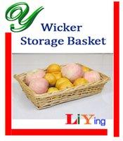 easter baskets - Wicker picnic basket storage baskets wire rustic basket fruit bread proofing basket decoration willow cm cm easter basket wedding basket
