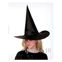 angels black hat - 1200pcs LJJC2632 Nolvety Creative Halloween Party Supplies Witch Hats Halloween Wizard Witcher Caps Party Cosplay Harry Potter Witch Caps