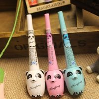 amazing pandas - Amazing Cute Cartoon Panda Beauty Black Eyeliner Waterproof Liquid Eye Liner Pencil
