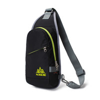 Wholesale Cool Canvas Vintage Travel Hiking Climbing Back pack Cross Body outdoors sport bag Triangle Sling Chest Bag