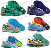 Wholesale KD Shoes KD VI Basketball Shoes KD6 Kevin Durant Sports Shoes Mens Training Sneakers Athletics Shoes Boots Online Cheap Sale