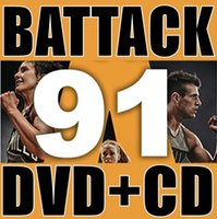 Wholesale Q1 LM New Routine BA91 ATTACK BA DVD CD Exercise Fitness Videos