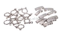 adjustable metal shackle - Promotional O Shape Adjustable Metal Shackle Outdoor Camping Survival Rope Paracord Bracelet Buckles