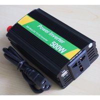 dc ac converter 12v 110v - DHL shipping W Car Power Inverter W DC V to AC V power converter Car Inverter waitingyou
