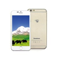 "Cheap 1:1 Goophone i6 4.7"" Metal Cover Dual Core MTK6572 android 4.2 show 1G 64GB Google Play 3G WCDMA Smart Phone 002400"