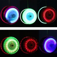 Wholesale High Speed YoYo Ball Luminous New LED Flashing Yo Yo Child Clutch Mechanism Yo Yo Toys for Kids Party Entertainment DHL