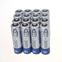 Wholesale 16x AA mAh V Ni MH rechargeable battery BTY cell for Toys Camera MP3 RC