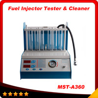 fuel injector cleaner tester - 2015 NEW Arrival Fuel Injector Tester Cleaner MST A360 MST A360 Ultrasonic Cleaning Dismantle the Carbide of the Injector