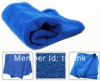 Cheap 40*40cm Car Wipe Clean Towel Synthetic Chamoi Leather Dry Wash Cloth 100 pec