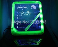 Wholesale LED handwritten fluorescence plate light emitting LED message board creative electronic fluorescent board advertising board