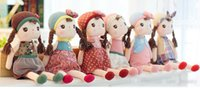 baby dropship - 40cm HOT SALE New Angela Plush Doll Metoo Stuffed Styles Baby Dolls Girl Graphic Kids Fairytale Toys Dropship