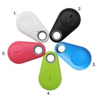 Wholesale Built in GPS map Anti Lost Object Key Finder Tracker ITag High Version Chips Anti theft Alarm with Bluetooth Smartphone APP Hot