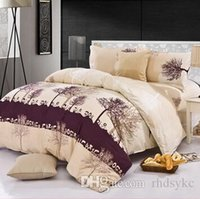 Wholesale Solid Color Quilted Bedding King - starlit night& pure color bed sets reactive printing 3 size bedding sets wholesale price free shippping