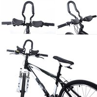 bicycle arm rest - Road Mountain Bike Bicycle Relaxation Handlebar Aluminium Arm Rest Black E1Xc