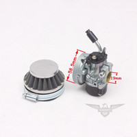 Wholesale Carburetor Air Filter CC Water Cooled Engine MT A4 Blata STYLE C11 Mini Moto Pocket Bike