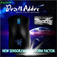 Wholesale High Quality Razer DeathAdder OEM Version Upgraded Gaming mouse dpi Brand New laptop Game mouse Factory Price Blue light wired usb mouse