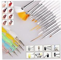 Wholesale Fashion Nail Art Design Set Dotting Painting Drawing Polish Brush Pen Tools SV002093