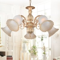 Wholesale Pretty Chandelier Lights W Pendant Lamps Zinc Alloy Glass And Resin Materials Top Indoor Lighting With Five Light Source