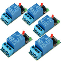 Wholesale New Channel V Relay Expansion Board Module low Level Triger for Arduino Hot Sale