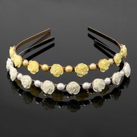 Wholesale 2014 Ks Style Fashion Jewelry For Women rose flower Hair bands Hair Accessorie FS00365