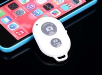 Wholesale Popular Bluetooth Remote Camera Control Self timer Shutter for iPhone S C S for Galaxy S5 S4 Note Remote Shutter