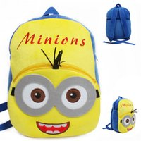 baby girl gifs - Despicable Me Minions Backpacks Cartoon Kids Baby Girls Boys Soft Plush Bags Minion Children Shoulders School Bag Backpack Gifs for T