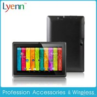 Wholesale All Winner Q88 Dual Core Tablet PC Inch Capacitive Screen Android A23 MB RAM GB Best Build in G Web Camera