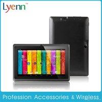 Comprimé q88 allwinner Prix-Tous les Winner Q88 Dual Core Tablet PC 7 pouces écran capacitif Android 4.2 A23 512 Mo de RAM 4 Go Meilleur Build-in 3G Webcam Web