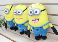 Reference Images minions - One Piecs Retail Big Size CM D Despicable Me Movie Dolls Plush Toy Inch Minions Toys Hobbies