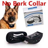 Wholesale Anti Bark Dog Collar No Barking Pet Collar Dog Training Shock Collar Electric Shock Vibation Levels PET853 Pet Supplies Obedience