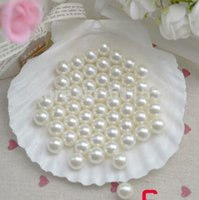 Wholesale 8mm perfectly round no hole pearl pearl decoration decorative pearl total