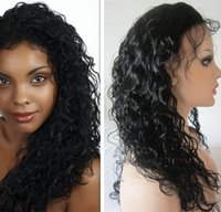 indian remy curly full lace wigs - Cheap human hair deep curly lace front wigs for black woman full lace human hair wigs remy hair