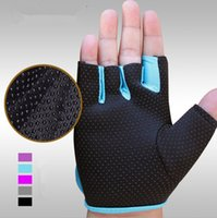 Wholesale 2016 New Drop Shipping Sports Gloves Fitness Exercise Training Gym anti skid Gloves Multifunction for Men amp Women