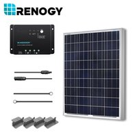 pv solar panel - Solar Panel Watt V PV Off Grid system Kit W Watts Poly for RV Boat