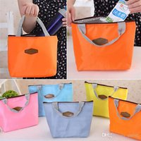 Wholesale Hot Sales Outdoor Lunch Bag Box Insulated Tote Food Drinks Ice Packs Isothermic Bags Oxford Size CM BX111