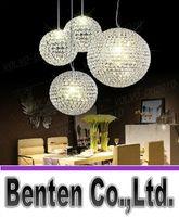ballroom chandeliers - llfa798 LED crystal ball chandelier lamp living room lights restaurant bar creative sphere chandelier ballroom chandelier