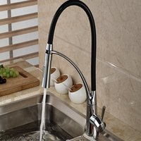 Wholesale And Retail Brand NEW Modern Swivel Spout Kitchen Faucet Vanity Sink Mixer Tap Single Handle Hole Vanity Sink Mixer Tap