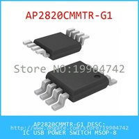 Wholesale AP2820CMMTR G1 IC USB POWER SWITCH MSOP AP2820
